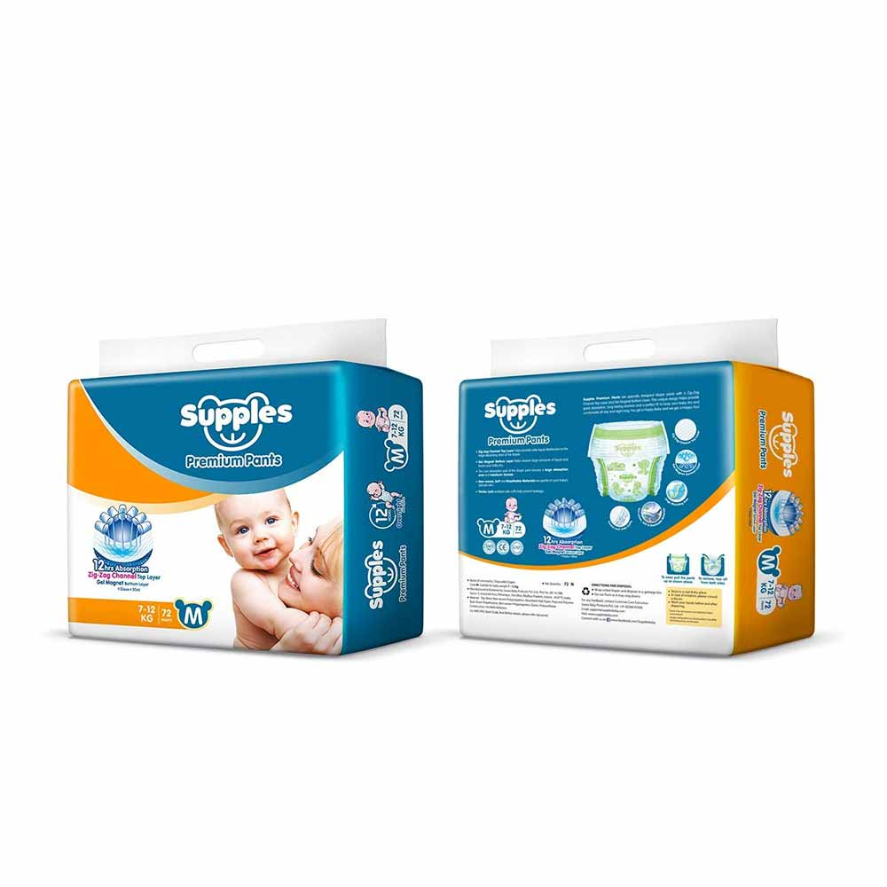 Supples Baby Pants Diapers-3