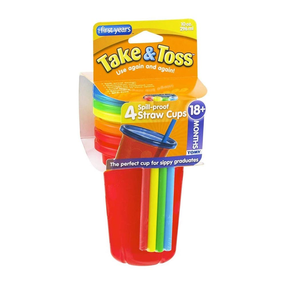 The First Years Take and Toss Straw Cup