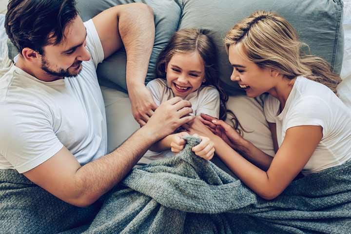 Tickling Their Children