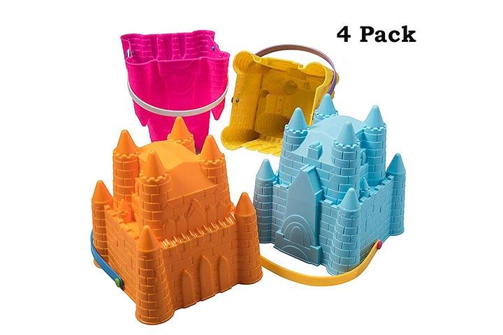 Top Race Sand Castle Building Kit
