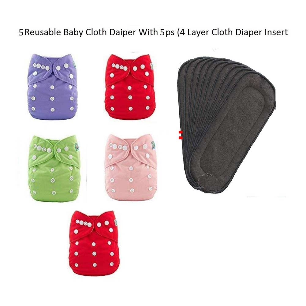 Toyboy  Baby Washable Cloth Diaper