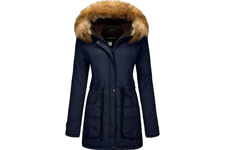 YXP Women's Winter Thicken Military