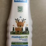 Mamaearth Talc Free Organic Dusting Powder for Babies, Arrowroot and Oat Starch-Natural product-By sunitarani