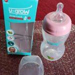 U-Grow Wide Neck Baby Feeding Bottle-Wide neck baby bottle-By modi