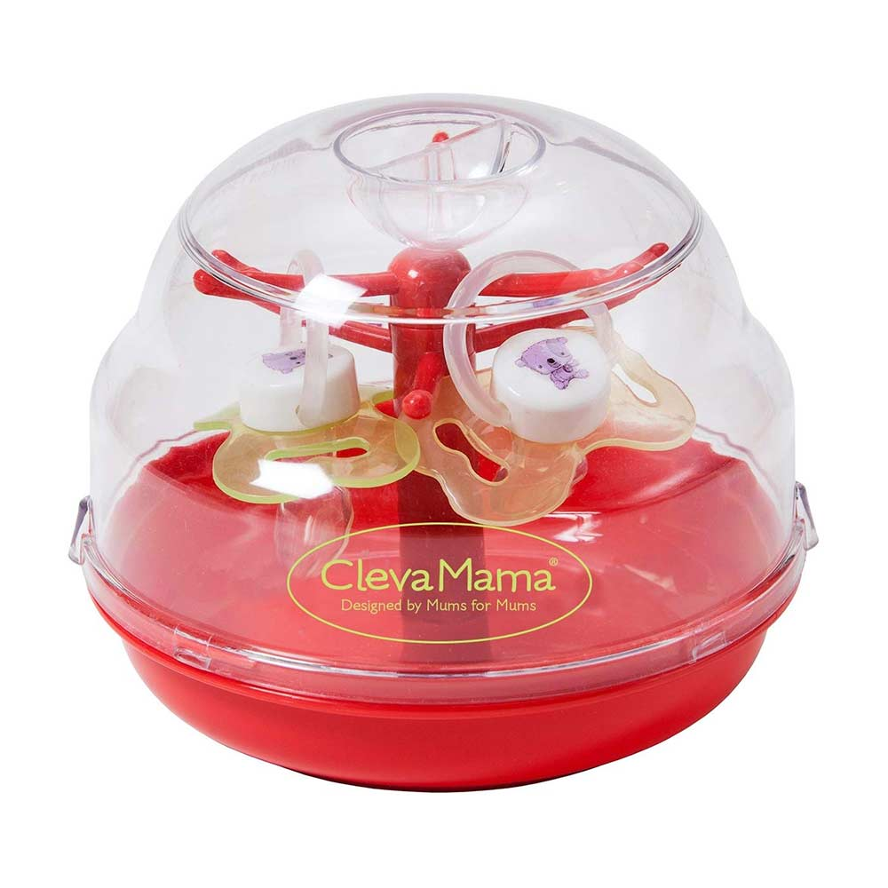 clevamama microwave soother steriliser