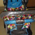 LuvLap Sunshine Stroller-Adorable print over fabric-By sunitarani