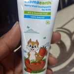 Mamaearth Baby's Natural Berry Blast Toothpaste-Berry blast brush time-By sumi2020