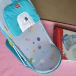 LuvLap Hippo Dippo Compact Baby Bather-Portable and Lovely bather-By sumi2020