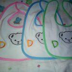 Polka Tots Cotton Bibs-Cotton comfort-By sumi2020