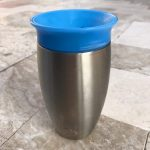 Munchkin Miracle Stainless Steel 360 Sippy Cup-Stainless elegant sipper-By sumi2020