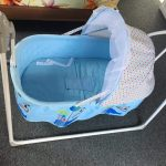 R for Rabbit Lullabies The Auto Swing Baby Cradle-Compact and comfortable-By sumi2020