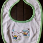 MOM'S HOME Newborn Baby's  Cotton Bibs-For the fussy eater-By sumi2020
