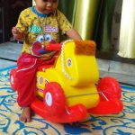 Playgro Toys Colt Shaped Rocker-Lets ride on Horse Rocker by Playgro toys-By poonam2019