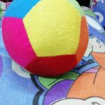Dimpy Stuff Colorful Soft Ball-Vibrant ball-By mridula_k