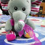 Deals India Elephant Soft Toy & Soft Ball-Cuddly combo!-By mridula_k