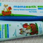 Mamaearth Baby's Natural Berry Blast Toothpaste-Organic toothpaste with berry flavour-By diya_sanesh
