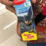 Colgate Anticavity Kids Batman Toothpaste-So much like chewing gum-By ushma