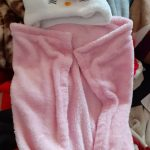 My NewBorn Hooded Flannel Wrapper Cum Blanket-Lovely Wrapper cum Blanket-By asha27