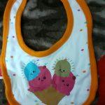 Babygo Waterproof Baby Apron with Bib-Waterproof baby bibs by Babygo-By poonam2019