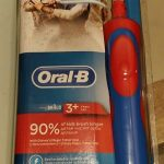 Oral B Kid's Battery Power Electric Toothbrush-Smart techno electrical toothbrush by Oral B-By poonam2019