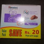 Himalaya Gentle Baby Soap Value Pack-Value saving pack of four soaps by Himalaya-By poonam2019