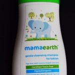 Mamaearth Gentle Cleansing Shampoo For Babies-Gentle baby shampoo-By kalyanilkesavan
