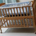 Babyhug Kelly Wooden Cot With Detachable Bassinet & Mosquito Net-Detachable parts-By rev