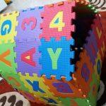 FunBlast Alphabet and Number Interlocking Mat Puzzle-fun blast puzzle mat-By vanajamk