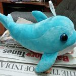 Playtoons Dolphin Soft Toy-buddy dolphin-By vanajamk