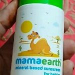 Mamaearth Mineral Based Sunscreen for Babies-Chemical free baby Sunscreen by Mamaearth-By asha27