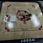 Webby Wooden Carrom Board Brown Beige-Awesome carrom board for all-By asha27