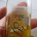 Patanjali Shishu Care Baby Hair Oil-Nourishing hair oil-By kalyanilkesavan