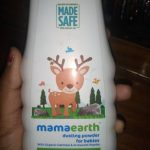 Mamaearth Talc Free Organic Dusting Powder for Babies, Arrowroot and Oat Starch-Organic powder-By kalyani_l