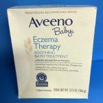 Aveeno Baby Soothing Bath Treatment Packets Eczema Therapy-Eczema therapy-By kalyanilkesavan