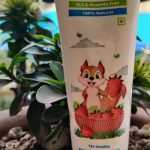 Mamaearth Berry Blast Toothpaste For Kids-Best Oral Hygiene for my toddler-By mommamoumita