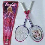 Barbie Badminton Racket With Cover-Outdoor play time-By sumi2020