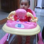 Mee Mee Baby Walker with Adjustable Height and Push Handle Bar-Mee Mee Baby Walker with Adjustable Height and Push Handle Bar-By priya2502