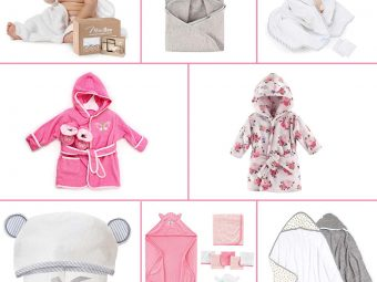13 Best Bath Towels And Robes For Babies In 2021