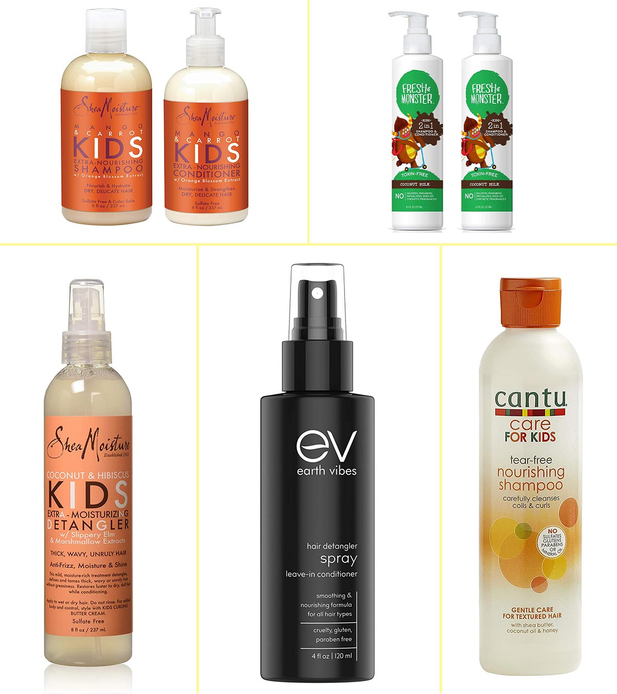 13 Best Natural Hair Products For Kids In 2020