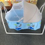 R for Rabbit Lullabies The Auto Swing Baby Cradle-R for rabbit cradle-By dharanirajesh16