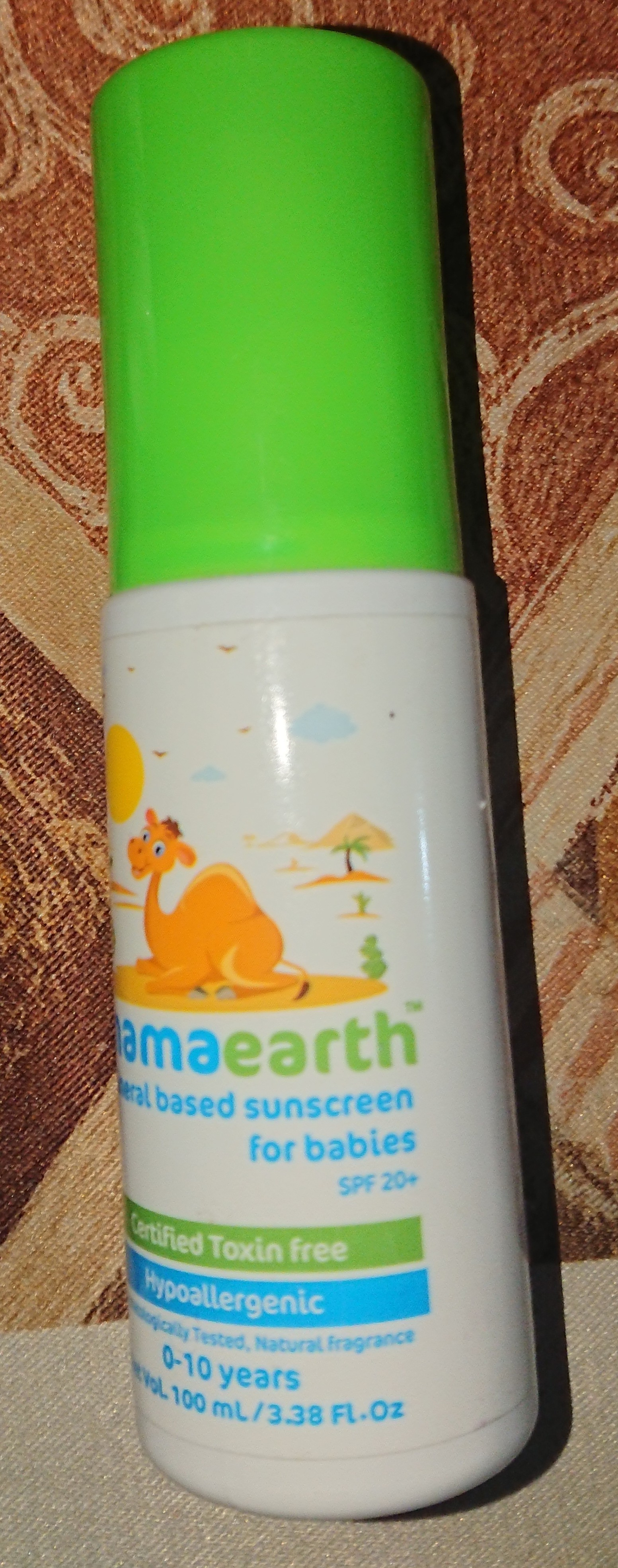Mamaearth Mineral Based Sunscreen for Babies-Mamaearth Mineral Based Sunscreen for Babies-By vatty2003