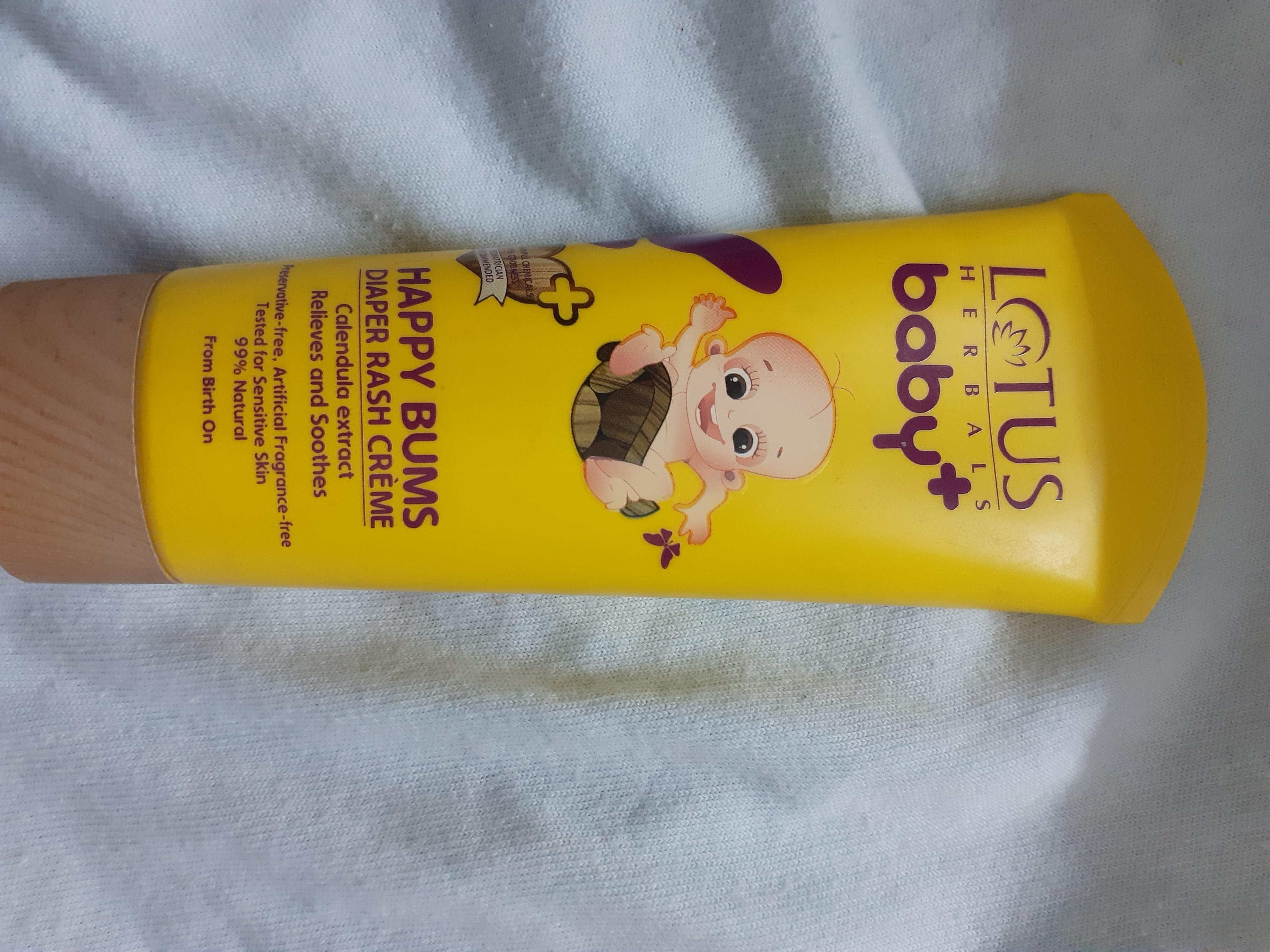 Lotus Herbals baby+ Happy Bums Diaper Rash Crème-Happy buns diaper rash cream-By jayathapa278