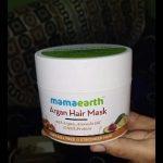 Mamaearth Argan Hair Mask-Ever best hair mask by Mama earth-By jayathapa278