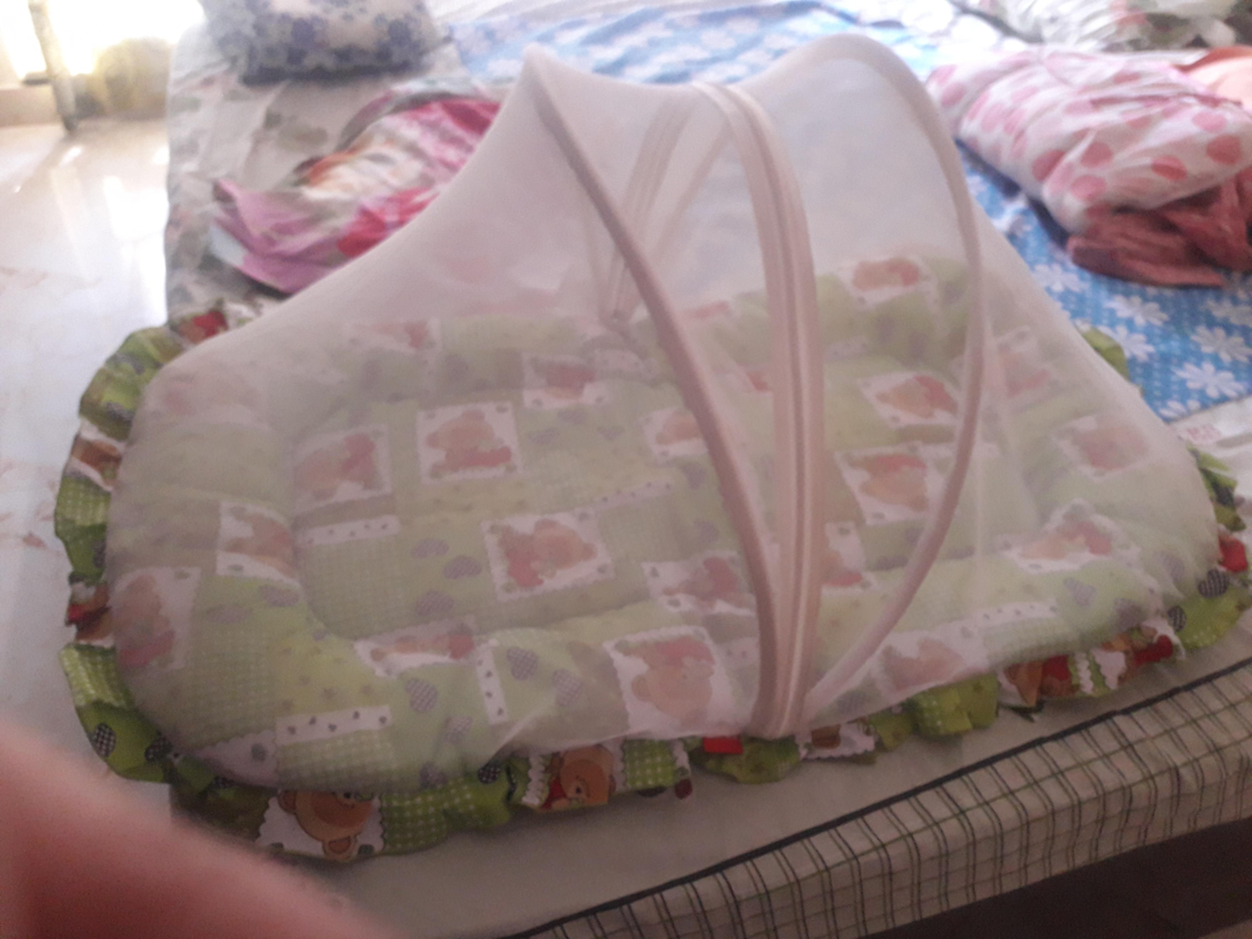 Babyhug Bedding Set With Center Zip Mosquito-No mosquito nites-By reshmashenoy
