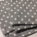 Babyhug Large Size Poly Wool All Seasons Blanket Polka Dots-Soft comfy blanket-By aden
