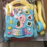 Toyshine Musical  Push and Pull Toy Activity Baby Walker-Excellent-By jayasree0806