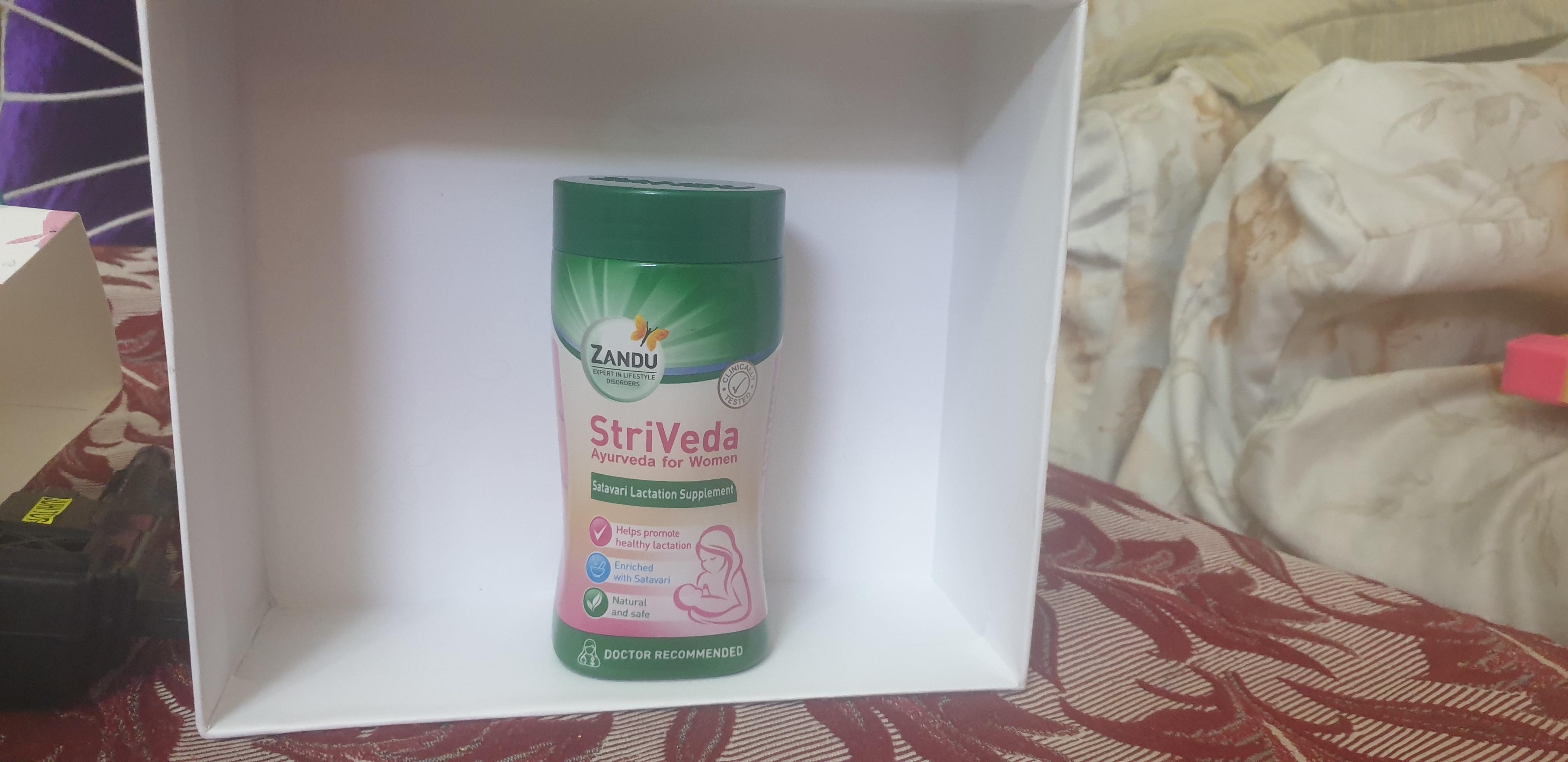 Zandu StriVeda Satavari Lactation Supplement-Awesome product Launched by Zandu for breastfeeding mothers-By mansikhanna9