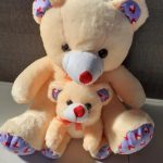 Deals India Mother Baby Teddy-Cute mother baby teddy-By jayathapa278