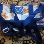 Sapphire Diaper Bag Bear Print-Sapphire Diaper bag-By kalyanilkesavan