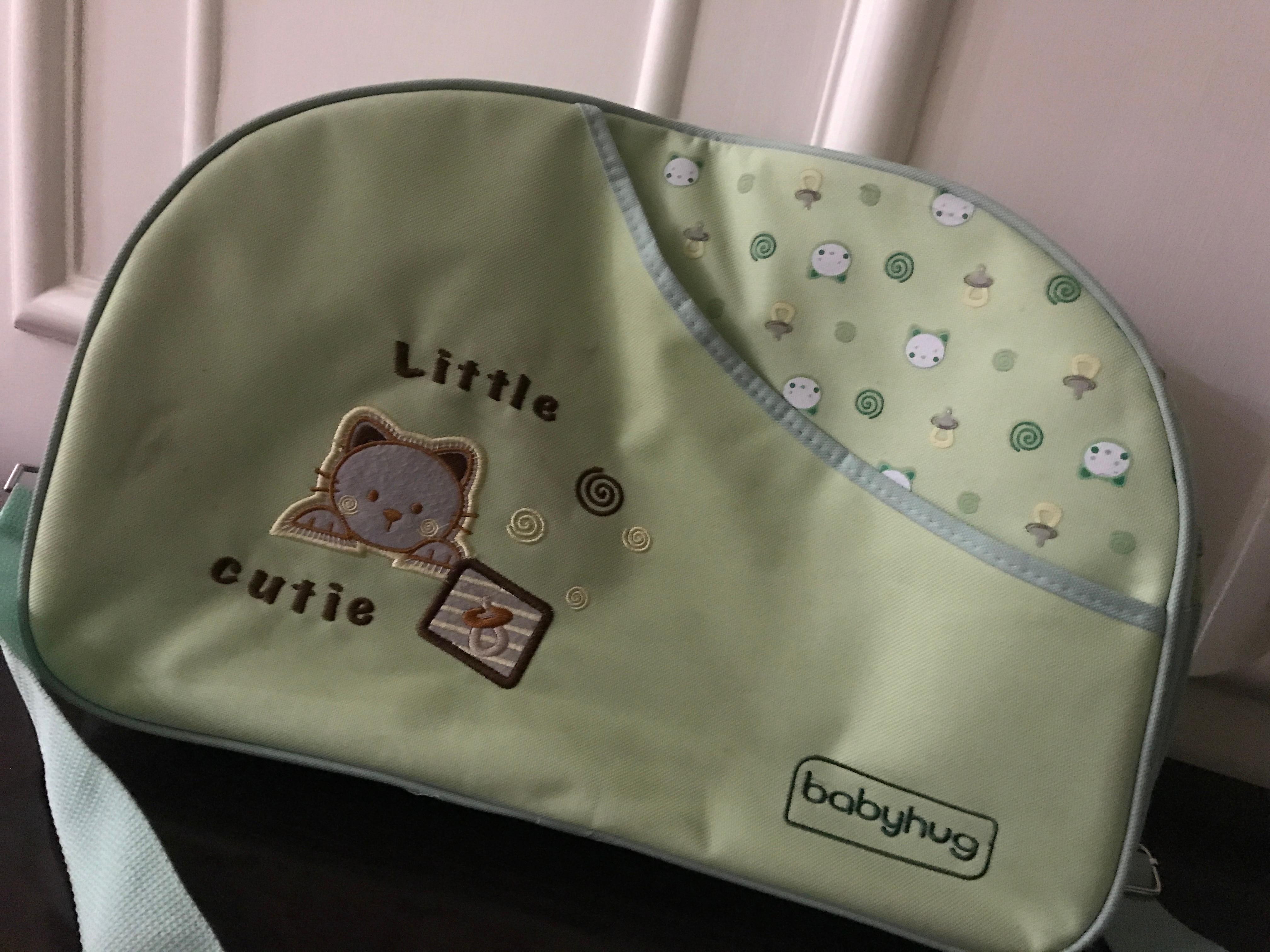 Babyhug Diaper Bag With Changing Mat-Fancy and useful-By saundaraya